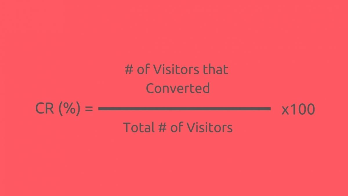 Conversion rate formula, how to calculate your conversion rate