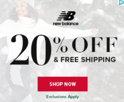 Screenshot of a retargeting ad offering a 20 discount