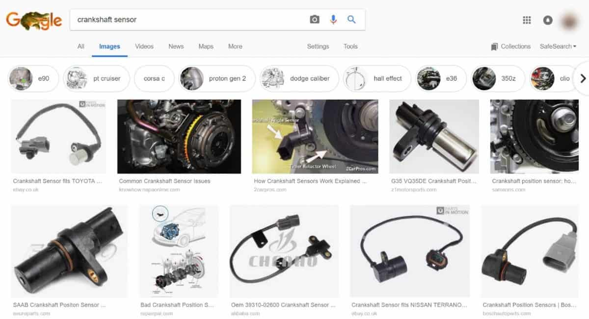 image search in Google