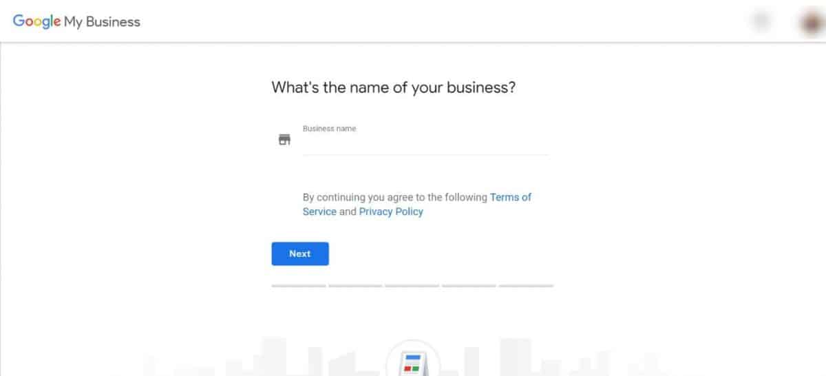 Google My Business claim my business page