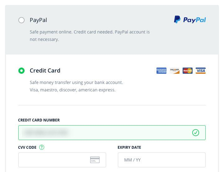 paypal pro checkout self-hosted