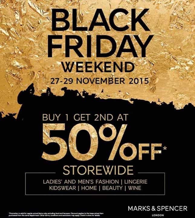 black friday weekend storewide discount, buy one get second at 50%