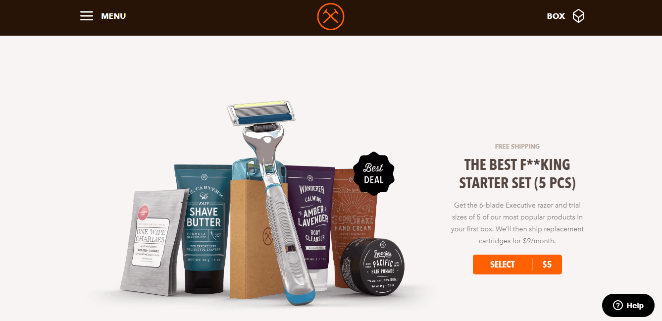 dollar shave club offer