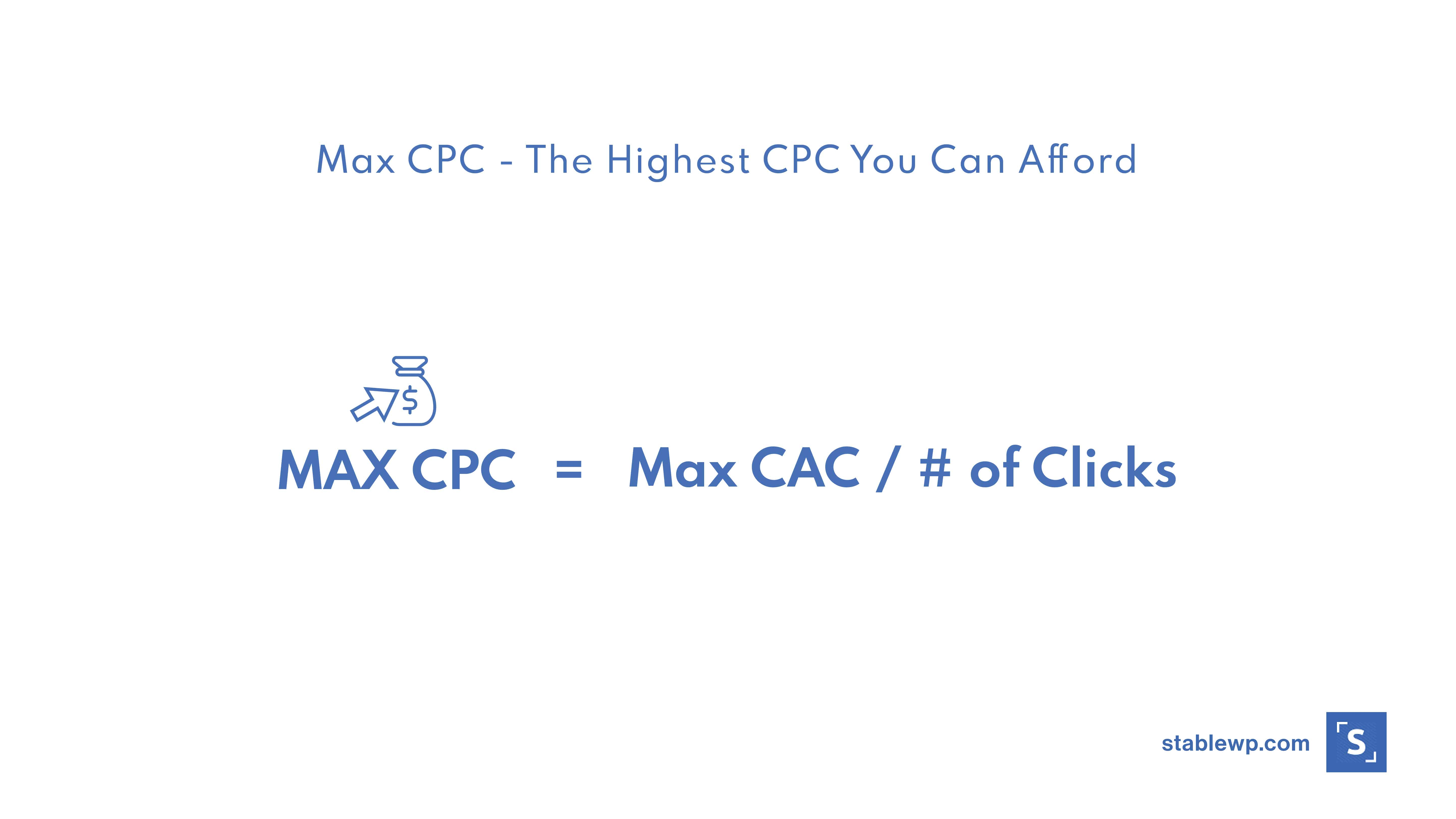 the highest cpc you can afford