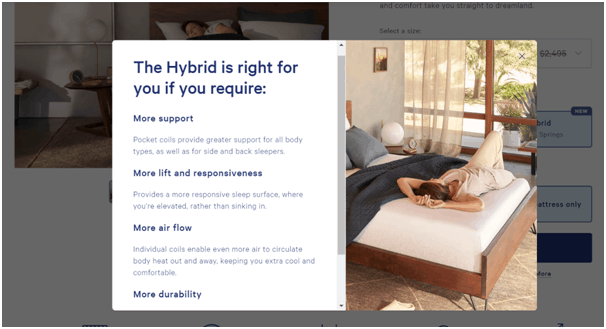 casper wave mattress hybrid option benefits